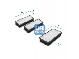 53.070.00 - Kabínový filter UFI