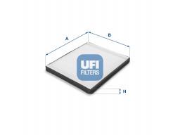 53.075.00 - Kabínový filter UFI