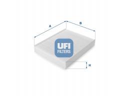 53.076.00 - Kabínový filter UFI