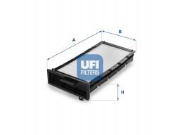 53.090.00 - Kabínový filter UFI