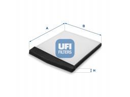 53.091.00 - Kabínový filter UFI