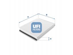 53.137.00 - Kabínový filter UFI
