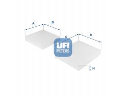 53.143.00 - Kabínový filter UFI