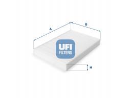 53.161.00 - Kabínový filter UFI