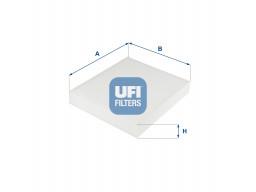 53.254.00 - Kabínový filter UFI (s aktívnym uhlím)