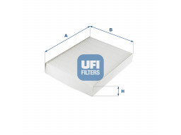 53.276.00 - Kabínový filter UFI