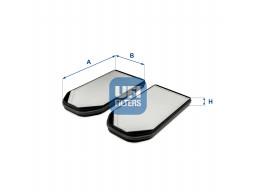 53.318.00 - Kabínový filter UFI