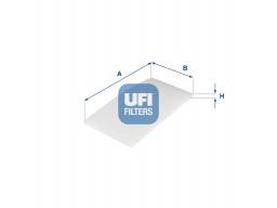 53.322.00 - Kabínový filter UFI