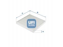 53.327.00 - Kabínový filter UFI