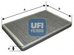54.123.00 - Kabínový filter UFI (s aktívnym uhlím)