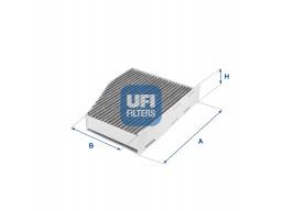 54.124.00 - Kabínový filter UFI (s aktívnym uhlím)