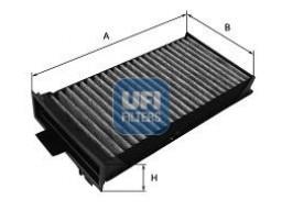 54.125.00 - Kabínový filter UFI (s aktívnym uhlím)