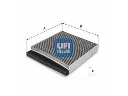 54.126.00 - Kabínový filter UFI (s aktívnym uhlím)