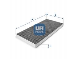 54.128.00 - Kabínový filter UFI (s aktívnym uhlím)