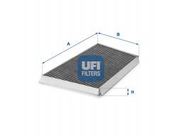 54.131.00 - Kabínový filter UFI (s aktívnym uhlím)