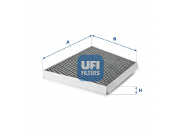 54.133.00 - Kabínový filter UFI (s aktívnym uhlím)