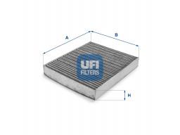 54.136.00 - Kabínový filter UFI (s aktívnym uhlím)