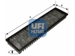 54.137.00 - Kabínový filter UFI (s aktívnym uhlím)
