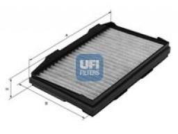 54.139.00 - Kabínový filter UFI (s aktívnym uhlím)