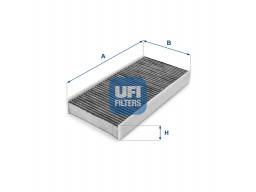 54.142.00 - Kabínový filter UFI (s aktívnym uhlím)