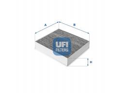 54.144.00 - Kabínový filter UFI (s aktívnym uhlím)