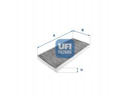 54.146.00 - Kabínový filter UFI (s aktívnym uhlím)