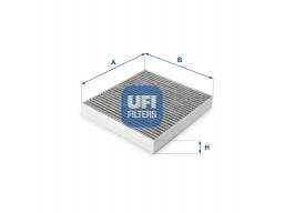 54.150.00 - Kabínový filter UFI (s aktívnym uhlím)