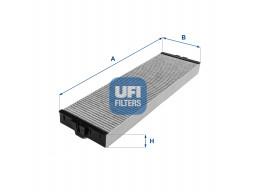 54.151.00 - Kabínový filter UFI (s aktívnym uhlím)