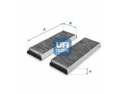 54.153.00 - Kabínový filter UFI (s aktívnym uhlím)