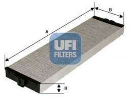 54.157.00 - Kabínový filter UFI (s aktívnym uhlím)