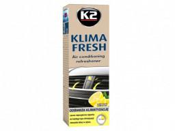 K2 Klima Fresh Lemon Sprej - čistič a osviežovač klimatizácie (ventilácie) 150 ml