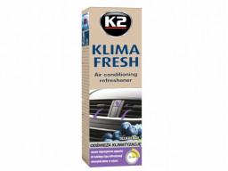 K2 Klima Fresh Blueberry Sprej - čistič a osviežovač klimatizácie (ventilácie) 150 ml