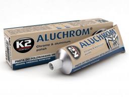 K2 Aluchrom - Leštiaca pasta na hliník, chróm 120g