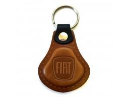Kožená kľúčenka Fiat