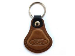 Kožená kľúčenka Ford