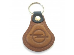 Kožená kľúčenka Opel