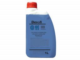 Chladiaca kvapalina G11 (modrá) Dexoll Antifreeze 1L
