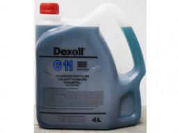Chladiaca kvapalina G11 (modrá) Dexoll Antifreeze 4L