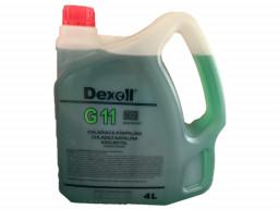 Chladiaca kvapalina G11 (zelená) Dexoll Antifreeze 4L