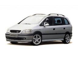 Opel Zafira A 2.0DTI 16V (74kw) - sada oleja a filtrov