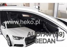 Deflektory - protiprievanové plexi Audi A4 (5-dverový, od r.v. 2016)