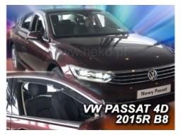 Deflektory - protiprievanové plexi VW Passat B8 (4-dverový, od r.v. 2014)