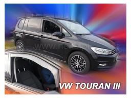 Deflektory - protiprievanové plexi VW Touran (5-dverový, od r.v. 2015)
