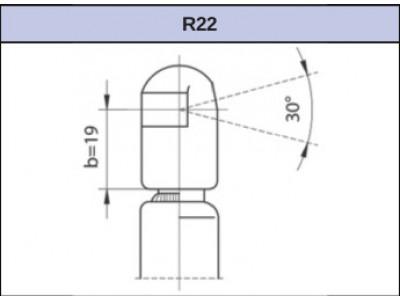 Magneti Marelli 430719023300 (GS0233) - pneumatická pružina (plynová vzpera)